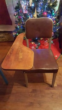 brown wooden chair with brown wooden base Hartsville, 29550