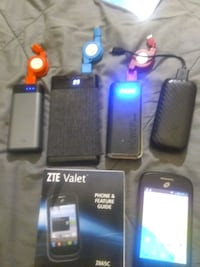ZTE VALET Z665C WITH AN 8GBSD CARD AND CHARGER Fort Lauderdale, 33351