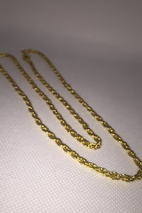 24k plated chain