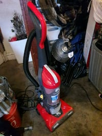 red and black upright vacuum cleaner Kansas City, 64118