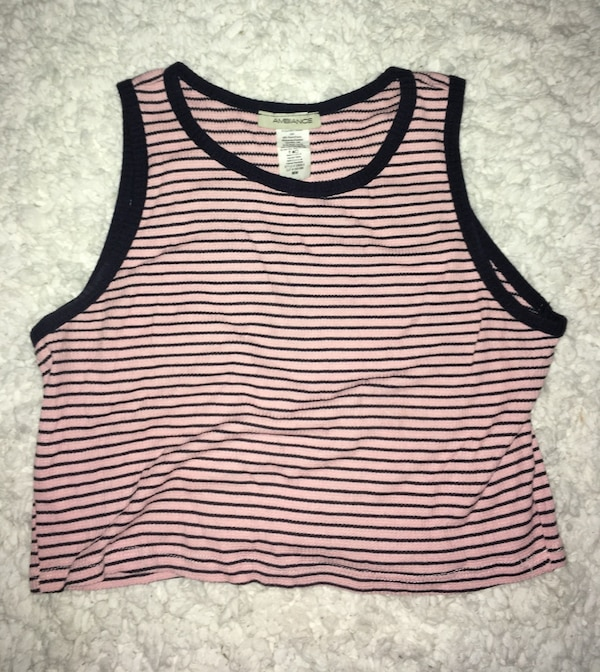 326af761afce7e Used women s white and red striped tank top for sale in Alhambra - letgo