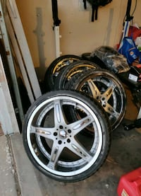 20 inch wheels 5x114.3  and tires Las Vegas, 89145