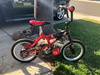 Toddler's red and black bicycle San Diego, 92131