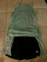 2 PC ADIDAS Womans Workout Set Imperial