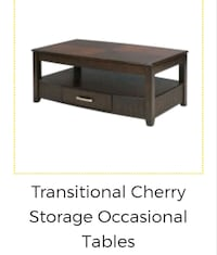 3 ARROW Cherry Cocktail & End Tables Ajax, L1T 4W4