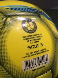 Size 3 Youth Soccer Ball Charlotte, 28202