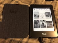 Kindle Paperwhite and Leather Case