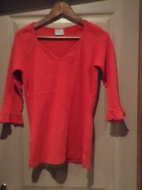 Pull rouge femme taille 40