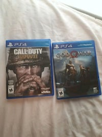 Call of duty world war 2 and god of war St. Thomas, N5P 3L3