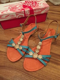 BRAND NEW blue sandals  Los Angeles, 91343