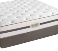 King simmons BEAUTYREST world class mattress! Won't last! Brookline, 02446