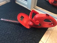 Black and decker hedge trimmer Laval, H7Y 2C8