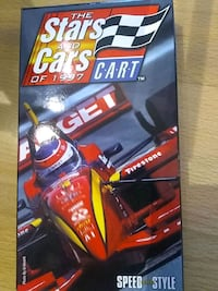 The stars and Cars of 1997 VHS