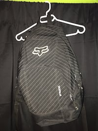 Black and gray fox racing backpack Beaconsfield, H9W 2S2
