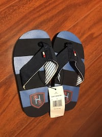 Black and blue Tommy Toddler sandals Milton, L9T 8C1