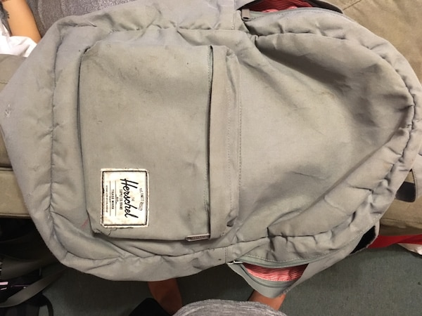 Gray herschel backpack 6fe714ac-a1b1-4992-a499-2f6bfd24f437