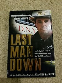 FDNY 9/11: Last Man Down book Washington, 20004