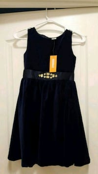 Fancy Blue Velvet Dress 589 km