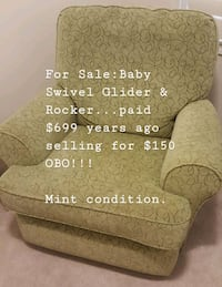 Baby Swivel Glider & Rocker