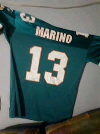 green and white NFL jersey Mississauga, L4T 1K3