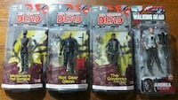 four The Walking Dead character action figure packs Marietta, 30062