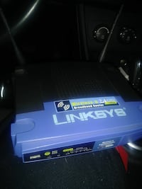 blue and black Linksys router Chandler, 85286