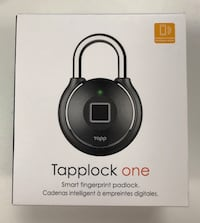 New -Tapplock one smart fingerprint padlock Mississauga, L5T 2P9