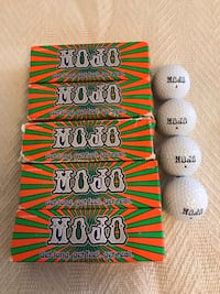 Nike Mojo Golf Balls. Six sleeves.  Virginia Beach, 23455