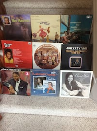 Assorted Collection of Vintage LP's