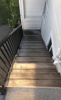 Almost New set of Wooden Stairs Delta, V4C 1B7