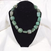 1940s Green Jade Stone Necklace Portland, 97222