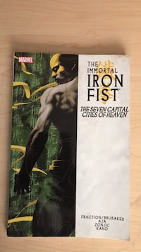 Iron Fist comic book Gahanna, 43230