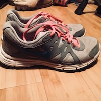 pair of gray-and-black Nike running shoes Reno, 89521