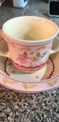 Royal Doulton child plate and cup Brampton, L6T 3M3