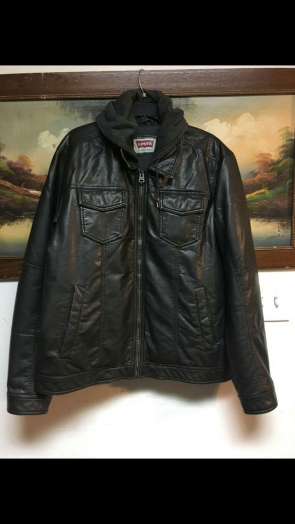 Levis leather jacket