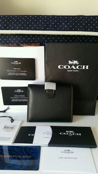 Coach small trifold wallet, gift card  Toronto, M2M 3X4