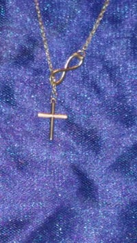 925 Sterling cross and infinity symbol Yakima, 98902