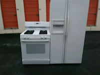 white front-load clothes washer and dryer set Atlanta, 30336