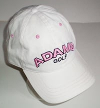 Ladies Adams Adjustable Golf Cap