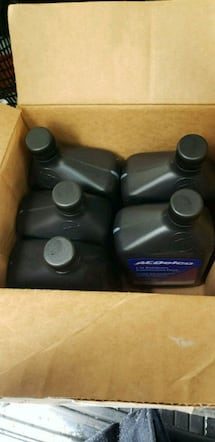 AC Delco automatic transmission fluid never used!