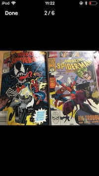 Marvel Spider-Man comic books Montreal, H3W 2E7