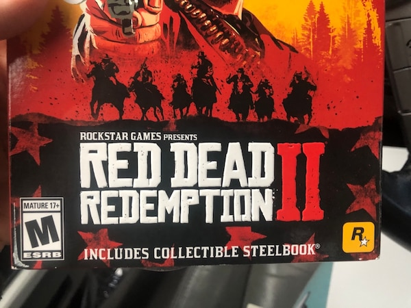 red dead redemption 2 steelbook edition