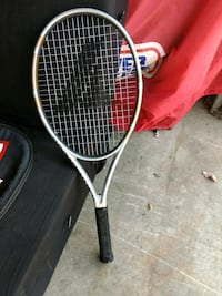 white and black tennis racket Delta, V4C 3N7