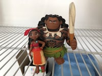 Moana and Maui figurines North Las Vegas, 89031