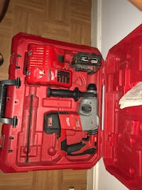 red and black Milwaukee cordless power drill Alexandria, 22304