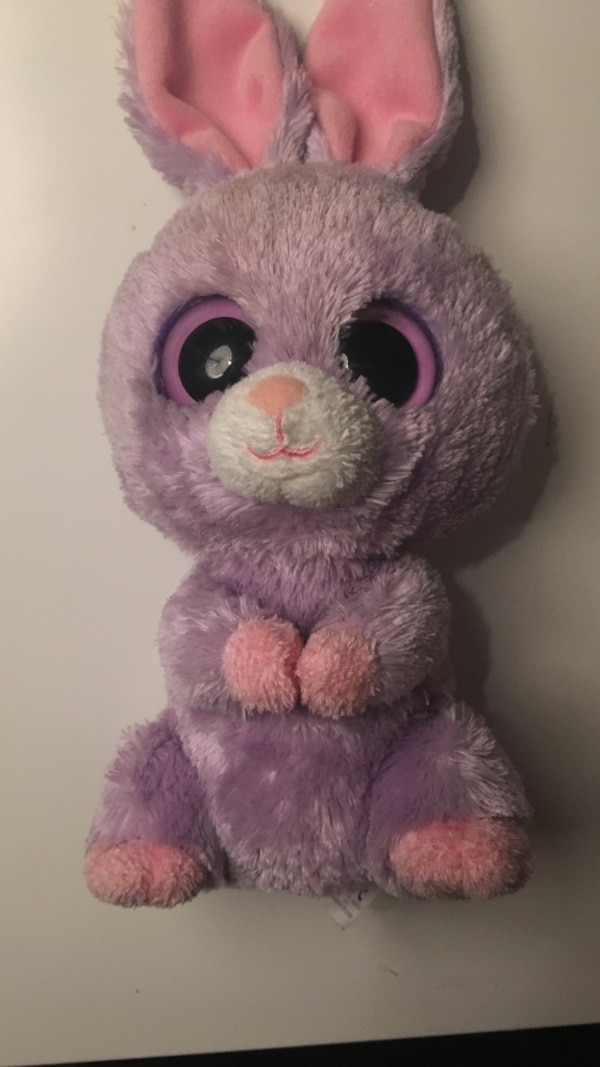 a0cd1f90c98 Used Ty beanie boo petunia purple bunny stuffed animal for sale in ...