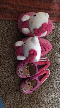 pink-and-white Hello Kitty and pair of Doc Mcstuffins home sleepers Carmichael, 95608