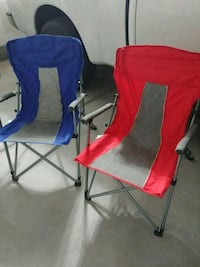 (2) Like New Adult Size Foldable Game Day Chairs Las Vegas, 89115