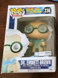 Back To The Future Dr. Brown Funko Pop Calgary, T2V 2H3