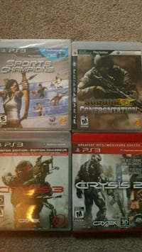 Ps3 games Saint Thomas, N5P 2V9